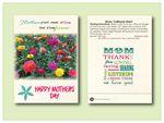 Custom Zinnia California Giant - Flower Seed Packet