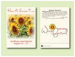 Custom Sunflower Giant Grey Stripe - Seed Packet