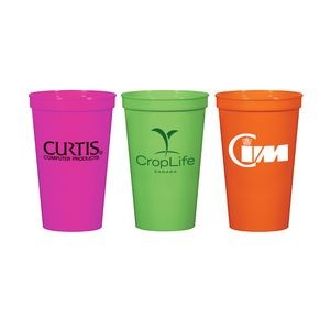Prague 22 Oz. Stadium Cup Neon Line