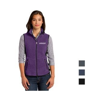 Port Authority® Ladies R-Tek® Pro Fleece Full-Zip Vest