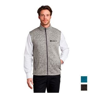 Port Authority ® Sweater Fleece Vest