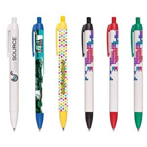 Full Color Graphics Wide Body Retractable Pen