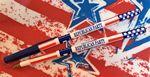 Custom Proud Colors Stars & Stripes Stick Pen