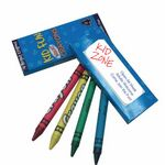 Custom KIDS PACK 4-Ct CRAYONS