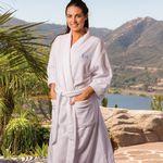 Custom Microfiber Velour Kimono Robe