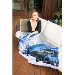 Custom Alpine Sublimated Lap Blanket