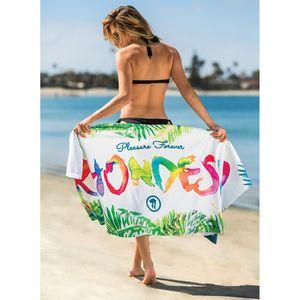 Subli-Cotton Terry Beach Towel (Edge to Edge Printed)