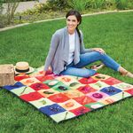 Custom Water Repellent Microfiber Picnic Blanket