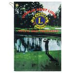 Custom Subli-Plush Velour Hand Golf Towel