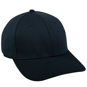 6 Panel Structured Polyester Bamboo Charcoal Cap