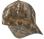 Custom 6 Panel Brushed camo Brown Cap