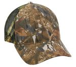 Custom 5 Panel Camo Brown Cap with Mesh Back