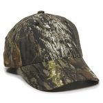 Custom Mesh Back Cap with Mossy Oak Visor Logo