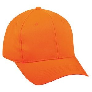 Blaze Orange High Profile Plastic Snap Cap