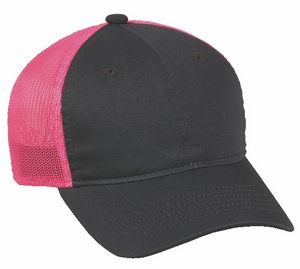 Heavy Washed Mesh Back Cap
