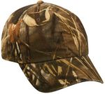 Custom Garment Washed Camo Assorted Cap
