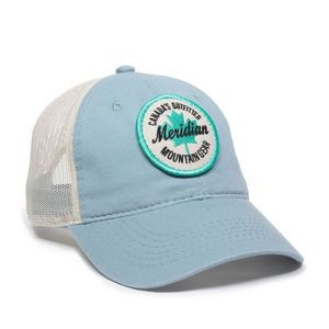 Heavy Garment Washed Mesh Back Cap