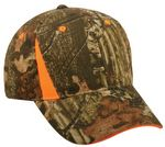 Custom camo Assorted Cap with Blaze Assorted Inserts