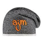 Custom Heather Jersey Knot Slouchy Hat
