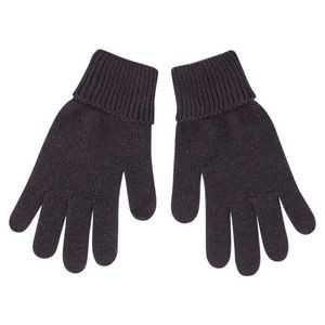 Gloves with turned down cuffs