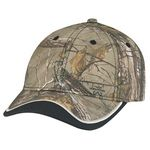 Custom Deluxe Blended Chino Twill/Brushed Polycotton Cap (Mossy Oak Break-Up or Realtree)