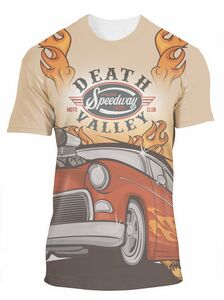 Full Color Print on Front Side Cotton/Poly Tee Shirt