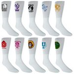 Custom Athletic Side Imprint Crew Sock