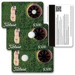 Custom 3D Lenticular Gift Card w/ Animated Golf Putt Images (Imprinted)