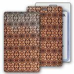 Custom Lenticular Luggage Tag / Changing Colors Snake Skin (Imprinted)