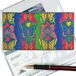 Custom 3D Lenticular Checkbook Cover (Stock) - Butterflies