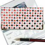 Custom 3D Lenticular Checkbook Cover (Playing Card Symbols)