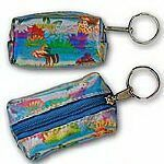 Custom Globi 3D Lenticular Key Chain Purse (Butterflies)