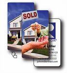 Custom Business Card/ Lenticular Real Estate Flip Effect - Blank (2