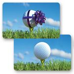 Custom 3D Lenticular Gift Card w/ Animated Golf Ball Images (Blank)