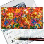 Custom 3D Lenticular Checkbook Cover (Butterflies & Flowers)