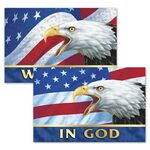 Custom 3D Lenticular Magnet/ Patriotic Images with Text