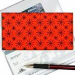 Custom Red Stars 3D Lenticular Checkbook Cover (Stock)