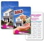Custom Calendar Card Wallet Size Lenticular Real Estate Flip Effect (Imprinted)