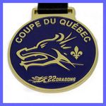 Custom Die Cast Medals Soft Enamel - Up to 4 Colors (1.75'')