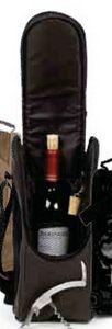 Single Wine Bottle Shoulder Tote