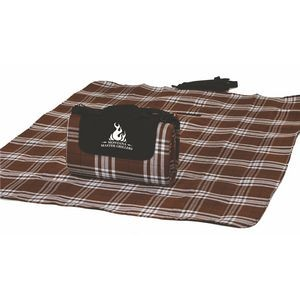 "Waterproof Picnic Blanket, Mega Mat w/ Shoulder Strap - 68""x 82"""