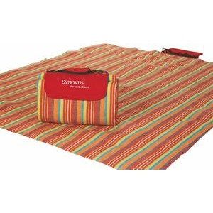 "Waterproof Picnic Blanket, Mega Mat w/ Shoulder Strap - 48"" x 60"""