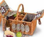 Custom Dilworth 4 Person Picnic Basket