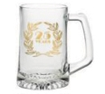 Custom 14 oz. Glass Sports Mug
