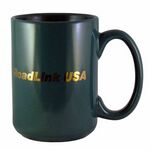 Custom 15 Oz. Jumbo Ceramic Mug - Green