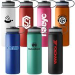 Custom 40 Oz. Matted Finish Insulated Stainless Steel Bottle