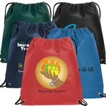 Custom 80GSM Nonwoven Drawstring Backpack