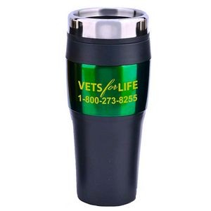 16 Oz. Color Roadster Travel Tumbler