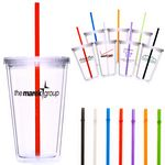 Custom As Low As $2.50(R) Refresco Double Wall Acrylic Cup