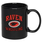 Custom 11 Oz. Colored C-Handle Mug